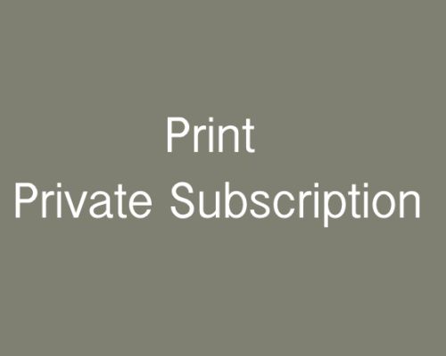 Private: Print Individual Subscription