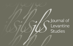 Journal of Levantine Studies